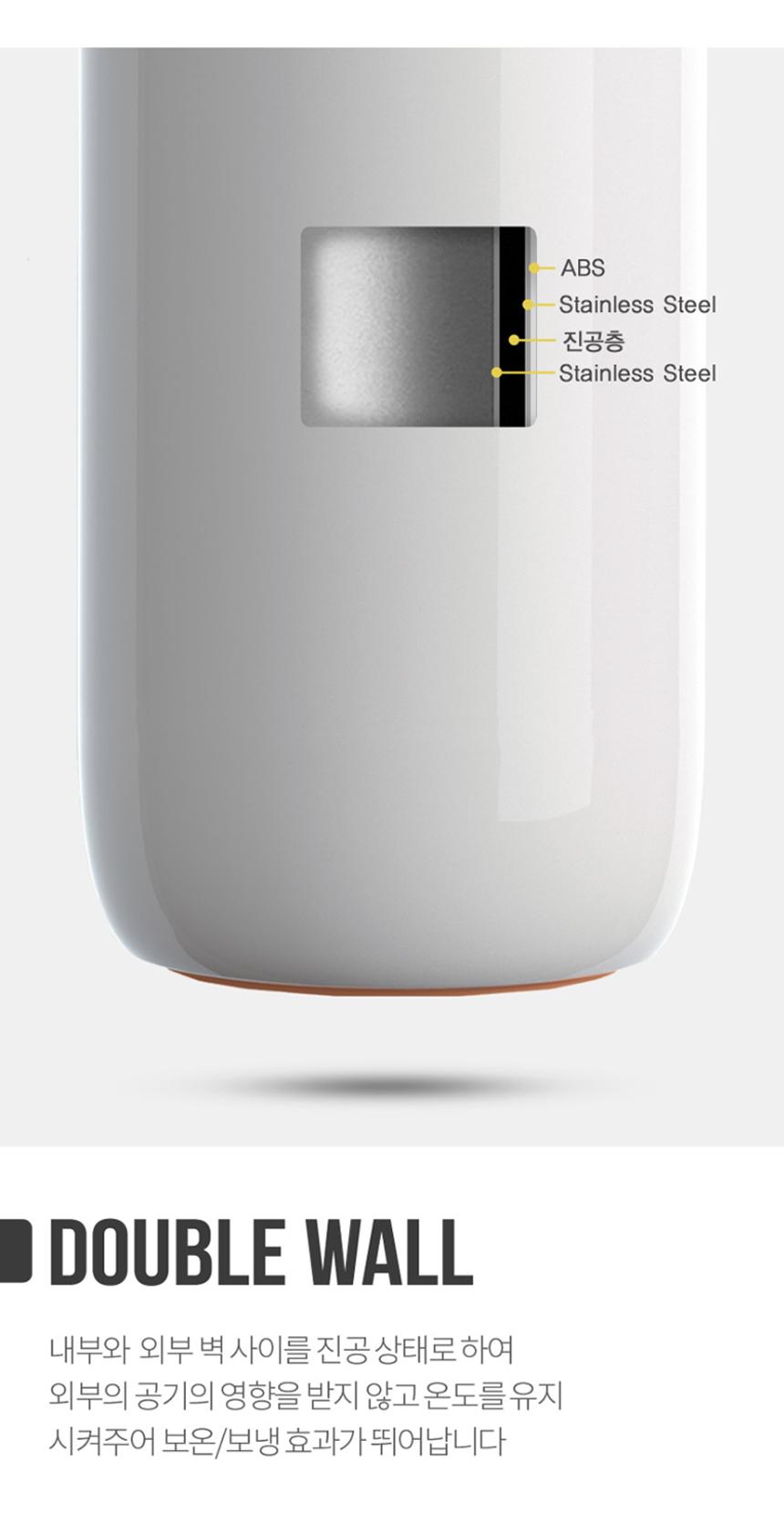 오슬로 이중진공 롤리폴리 엣지 티텀블러 400ml - 김씨하우스, 48,500원, 보틀/텀블러, 보온보냉병